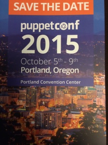 Puppetconf 2015 will be in Portland